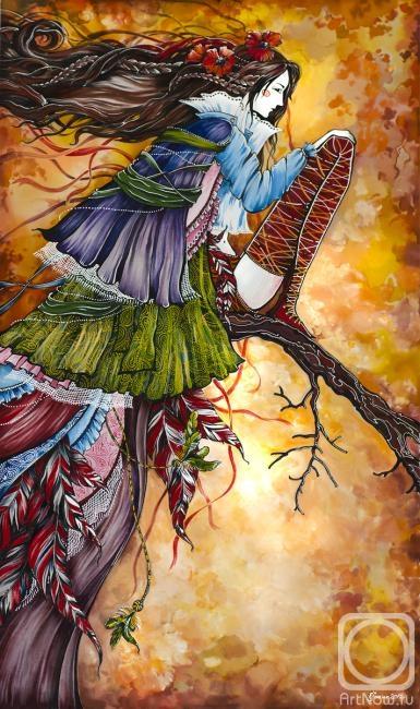 Каминская Мария. фазан