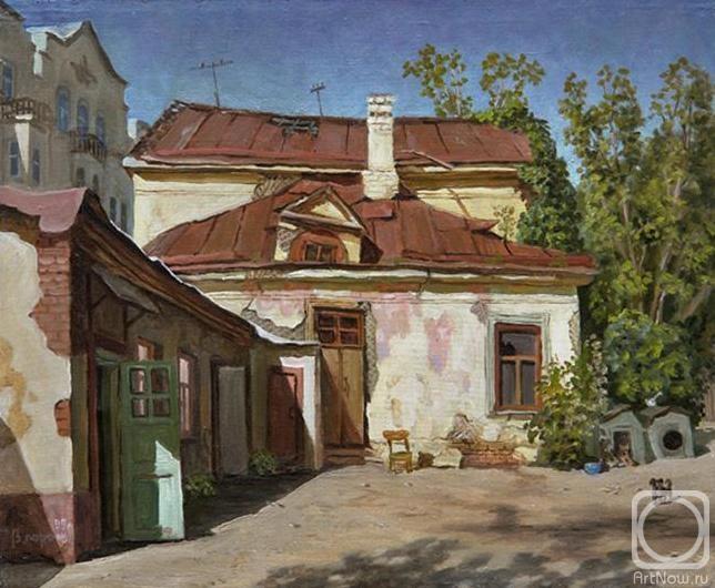 Парошин Владимир. Двор в Старомонетном переулке