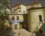 Двор в Аристарховском переулке
