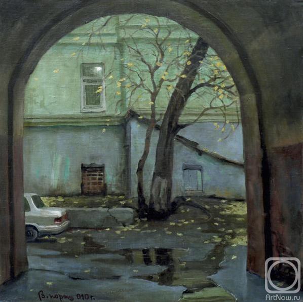 Парошин Владимир. Октябрь