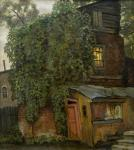 A house covered by ivy. Paroshin Vladimir