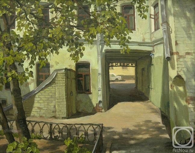 Парошин Владимир. Двор в Фурманном переулке