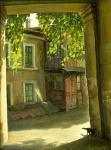 Одесса. Дворик на Молдованке
