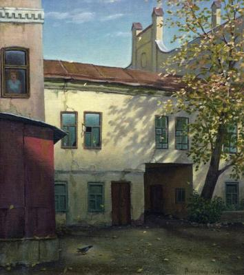 Autumn light. Paroshin Vladimir