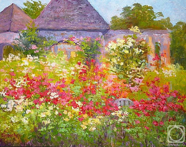 сад живопись: