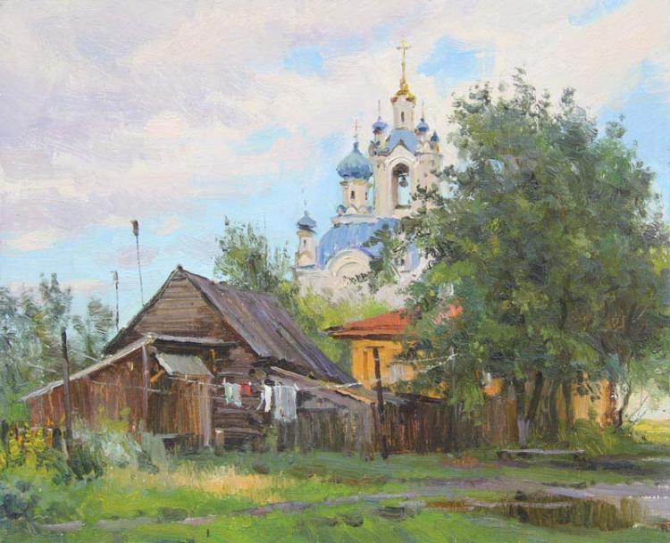 Ефремов Алексей. Утро после дождя