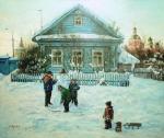 Глушков Сергей. Снеговик