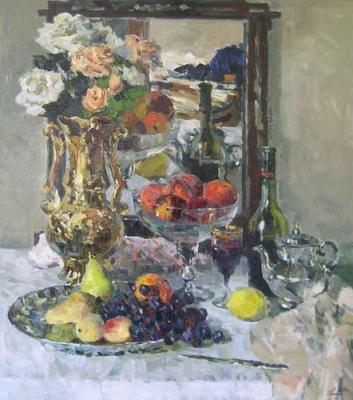The still-life with the fruits