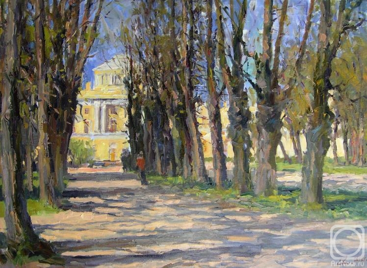 Malykh Evgeny. The tripple path of the lime trees