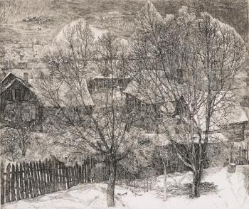 Nikireev Stanislav. Wintry View