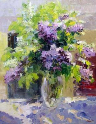 The bouquet of lilac