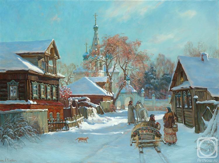 Коробкин Анатолий. Перед Рождеством