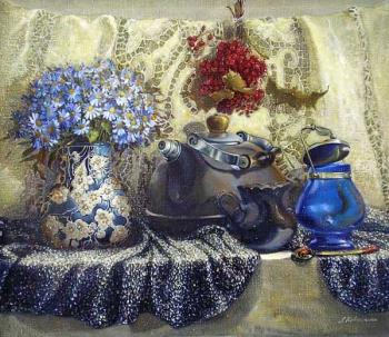 Kovalenko Lina. Stillife with kalina