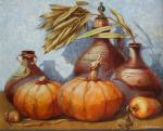 Still life with pumpkins. Kovalenko Lina