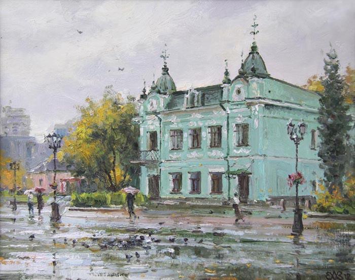 Ефремов Алексей. Осенний дождь