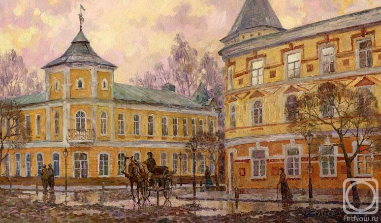 Осень на Среднемосковской улице ...: artnow.ru/ru/gallery/3/11485/picture/0/652094.html