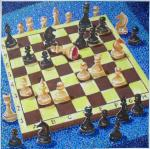 Картины на тему «Натюрморт с шахматами»