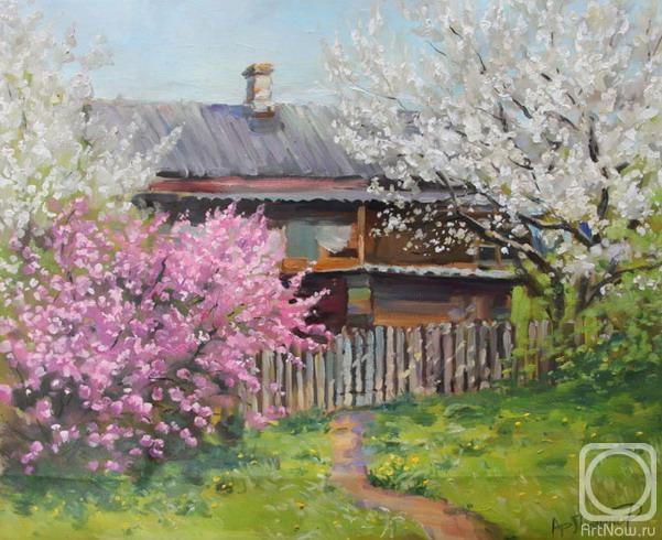 Картины художника цветущий май