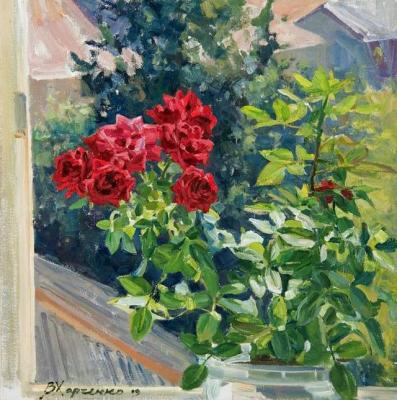 Red roses. Kharchenko Victoria