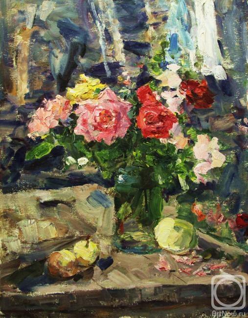Картины художника розы солнце