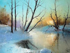 "Выставка картин ""Сказочная зима"". Химки. Арт-галерея Кантри Парка. 25.11.-29.12.2012г."