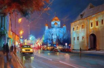 The lights of Prechistenka street. Shalaev Alexey