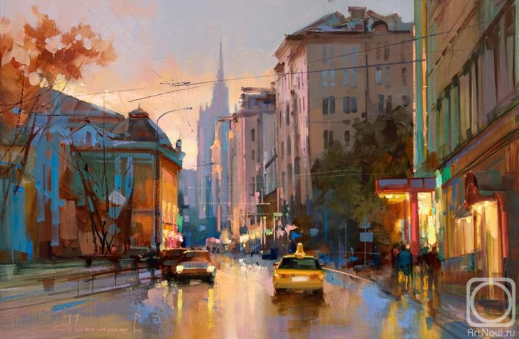 Shalaev Alexey. Povarskaya Street. Good evening