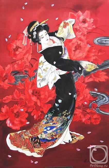 Логинова Светлана. Танцующая Японка