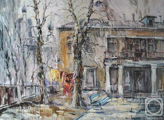 Чарина Анна. Дворик в Токмаковом переулке