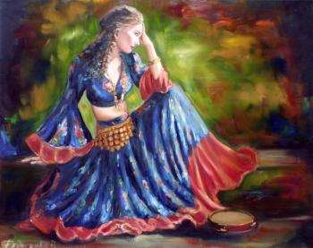 dancer (Gypsy Dance). Fedosenko Roman
