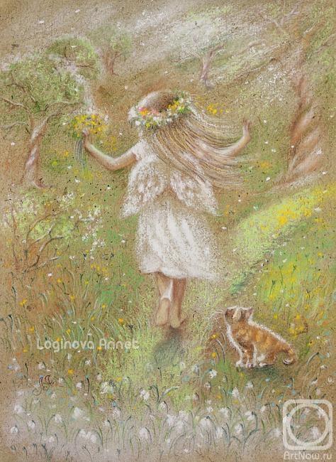 Логинова Аннет. Юная весна