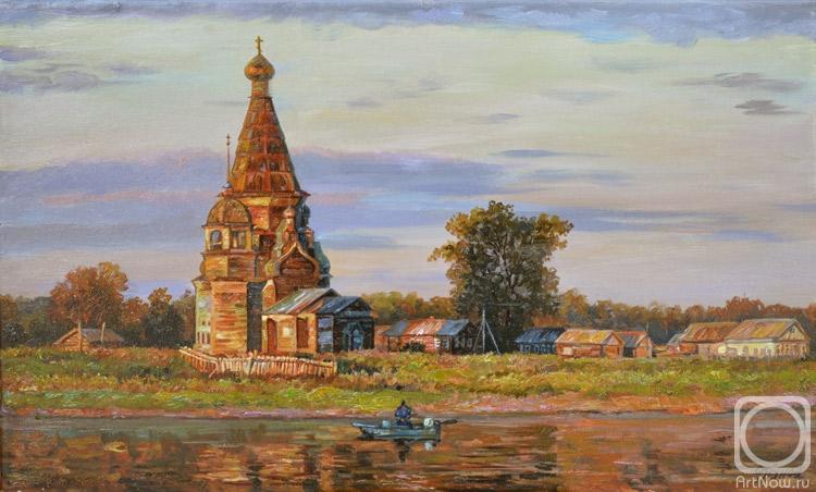 Панов Эдуард. Церковь у реки