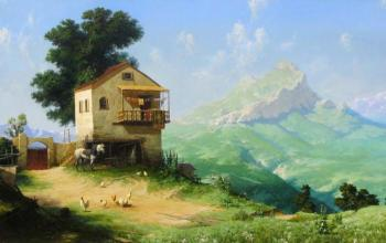 Fyodorov Michail. House in the mountains
