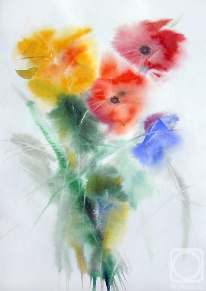 Андреевна картины художника цветы