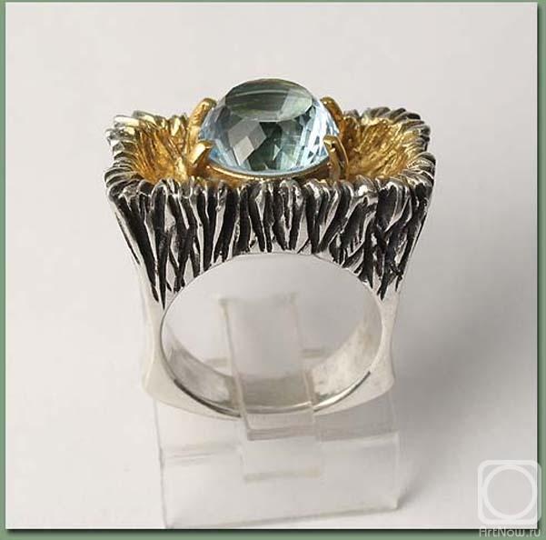 Авторские серебряные украшения с натуральными цветными камнями.