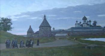 Rubinsky Pavel. The white nights on Solovki