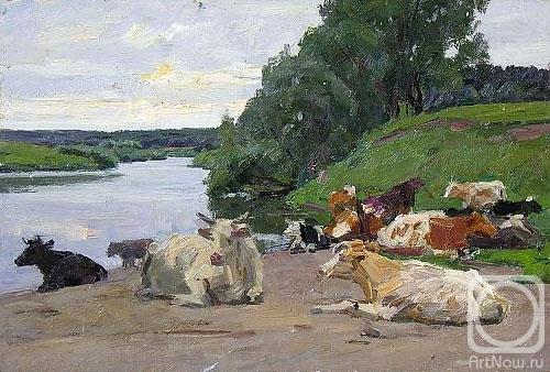 Рубинский Игорь. Коровы