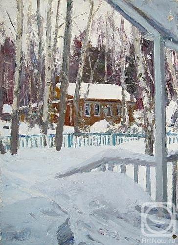 Рубинский Игорь. Зима в Таруссе