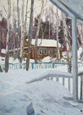 Rubinsky Igor. Winter in Tarussa