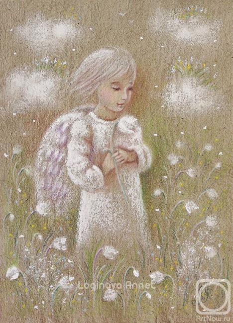 Логинова Аннет. Весенний ангел