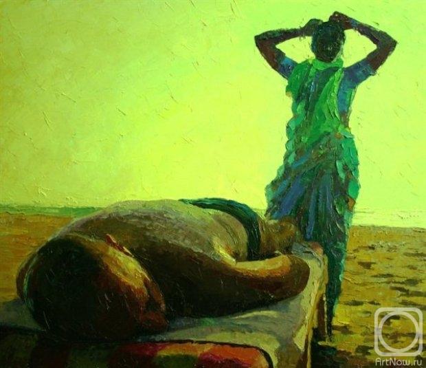 Картинки по запросу картины художников о массаже