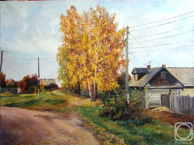 Бушуева Людмила. Осень в деревне