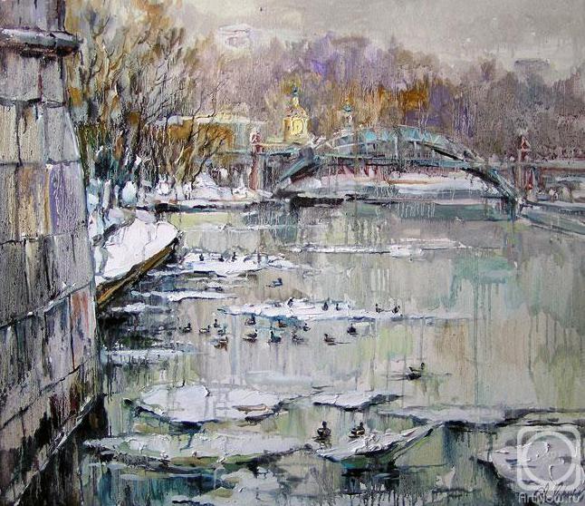 Чарина Анна. Холодные воды. Москва-река
