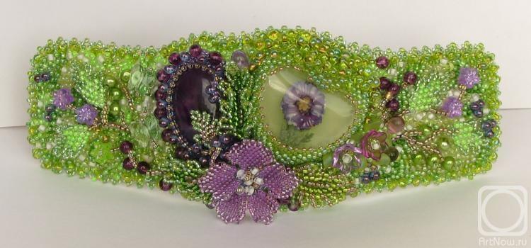 """Ovintsovskaya Svetlana.  Bracelet """"Spring Waltz"""" -2"""