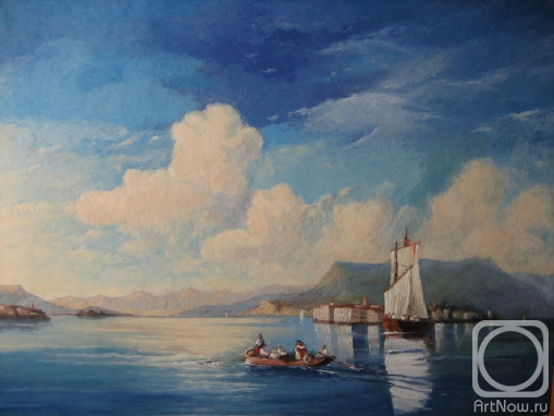 Копия с картины айвазовского и к