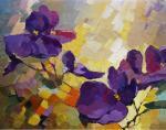 Violets. Chizhova Viktoria