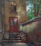 Старый подъезд в Афанасьевском переулке