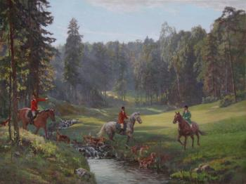 Korobkin Anatoly. Hunting with hounds