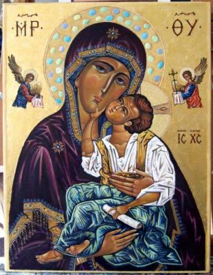 "Icon of the Mother of God ""Tenderness""-II"