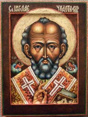 St.Nikolay - Archbishop of Myra in Lycia, the Wonderworker